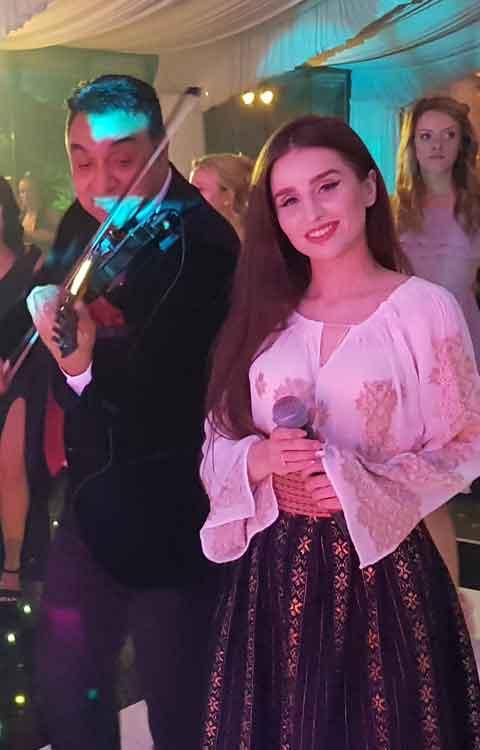 Nunta cu solisti live si orchestra